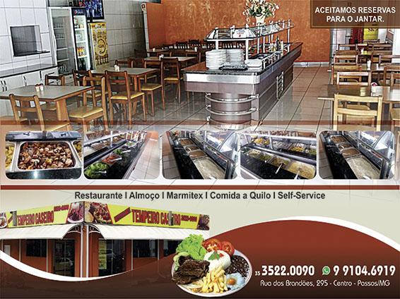 Restaurante Tempero Caseiro