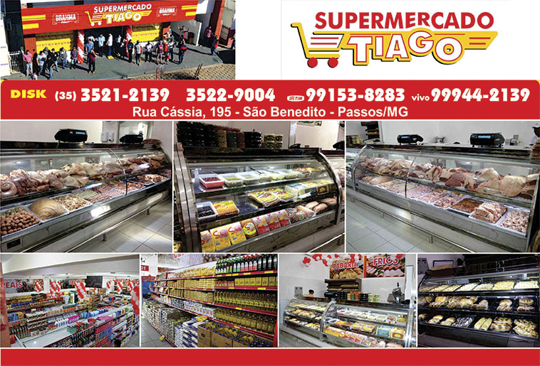 Supermercado Tiago - Ofertas da Semana Supermercados Passos MG / Jornal de Ofertas Supermercados Passos MG.