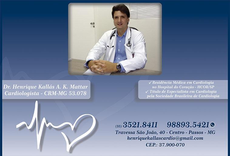 Dr. Henrique Kallas A K Mattar - CRM/MG - 53078