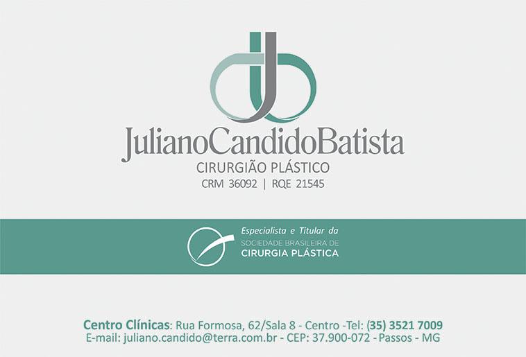 Dr. Juliano Cândido Batista - CRM - 36092