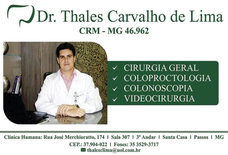 Coloclínica - Dr. Thales Carvalho de Lima -CRM/MG - 46962