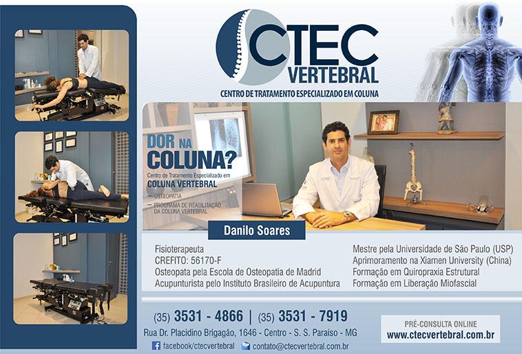 Dr. Danilo Simoni Soares - Ctec Vertebral - CREFITO 56170-F