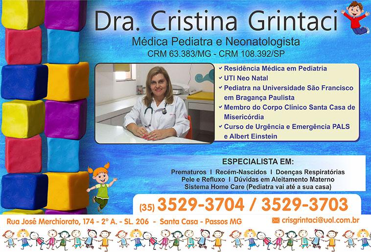 Dra. Cristina Grintaci - CRM/MG - 63383