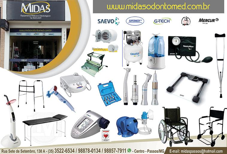 Midas - Equipamentos Odontológicos Médicos e Hospitalares