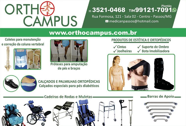 Ortho Campus Produtos Ortopédicos