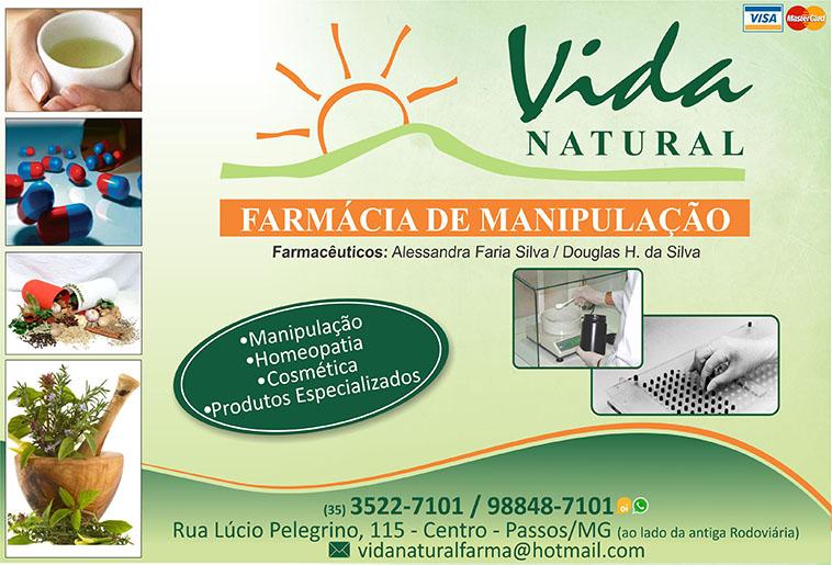 Farmácia de Manipulação Vida Natural