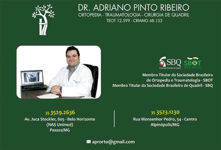 Dr. Adriano Pinto Ribeiro - CRM/MG - 48153