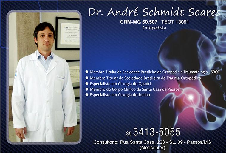 Dr. André Schmidt Soares - CRM/MG - 60507