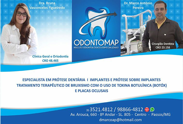 Dr. Bruna Vasconcelos Figueiredo - Odontomap - CRO - 48465