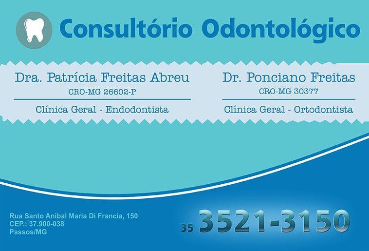 Dra. Patrícia Freitas Abreu - CRO/MG - 26602 - P