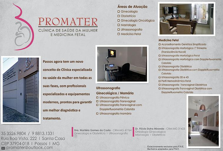 Promater - Dra. Mariléa Gomes da Costa - CRM/MG - 47764