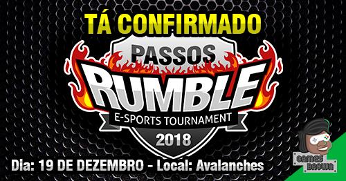 Avalanches - Passos Rumble - Torneio de Street Fighter V