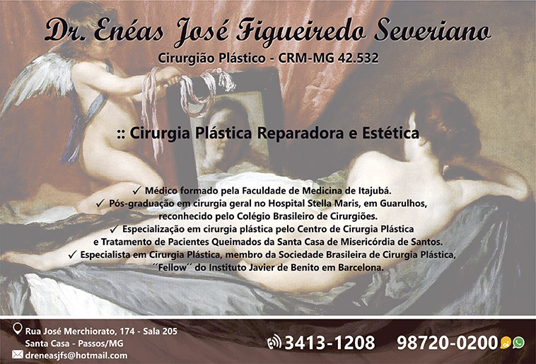 Dr. Enéas José Figueiredo Severiano - CRM/MG - 42532