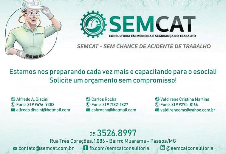 SEMCAT Consultoria em Medicina e Segurança do Trabalho