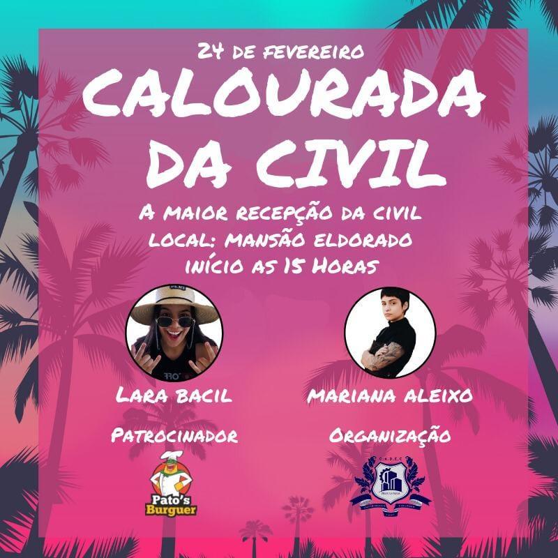 Mansão Eldorado - Calourada da Civil