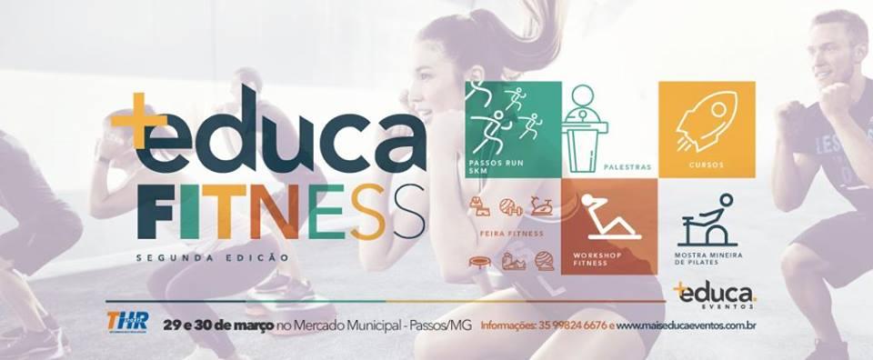 Mercado Municipal de Passos - Mais Educa Fitness 2ª Edição (29 e 30/03)