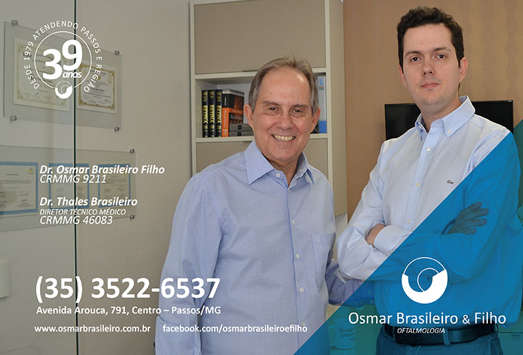 Dr. Thales Brasileiro - CRM/MG - 46083