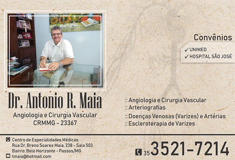 Dr. Antônio Raimundo Maia - CRM/MG - 23367