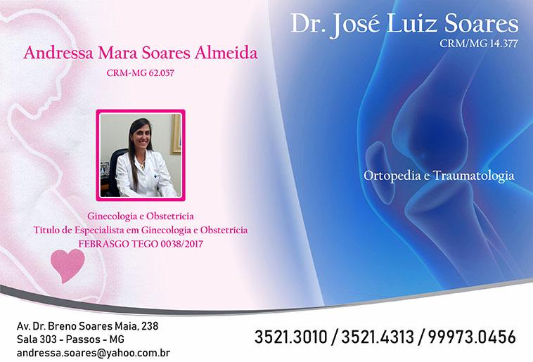 Dra. Andressa Mara Soares Almeida - CRM/MG - 62057