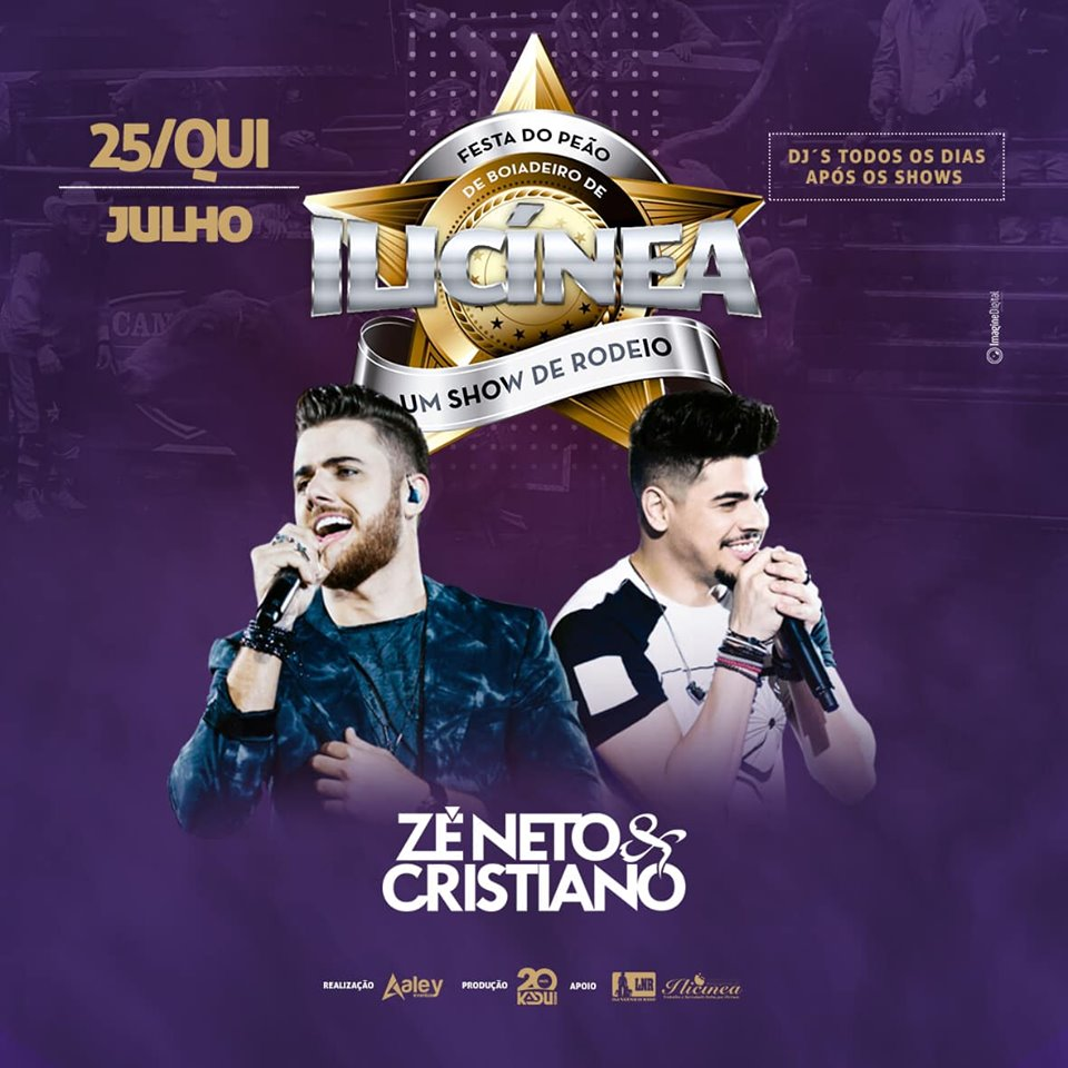 Festa do Peão de Ilícinia - Zé Neto e Cristiano Ilicinia MG
