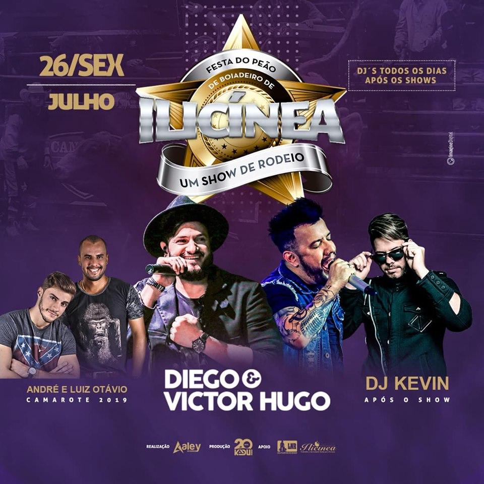 Festa de Peão de Ilicinia MG - Show Diego e Victor Hugo