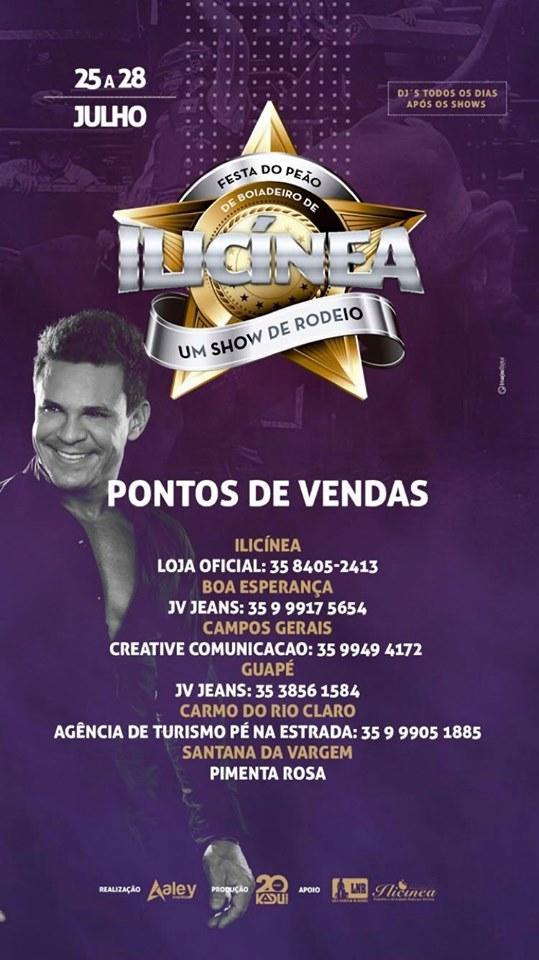 Festa de Peao Ilicinia - Show Eduardo Costa Ilicinia MG.