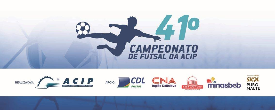 Torneio de Futsal da ACIP Passos MG.