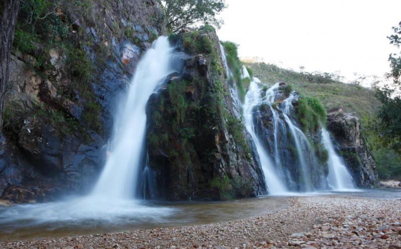 Cachoeira Vale do Céu - Delfinópolis MG.