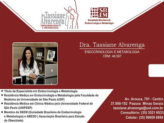 Dra. Tassiane Alvarenga - CRM - 48597