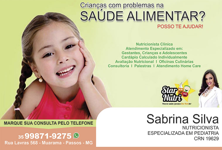 Sabrina Silva - Star Nutri - CRN - 19629