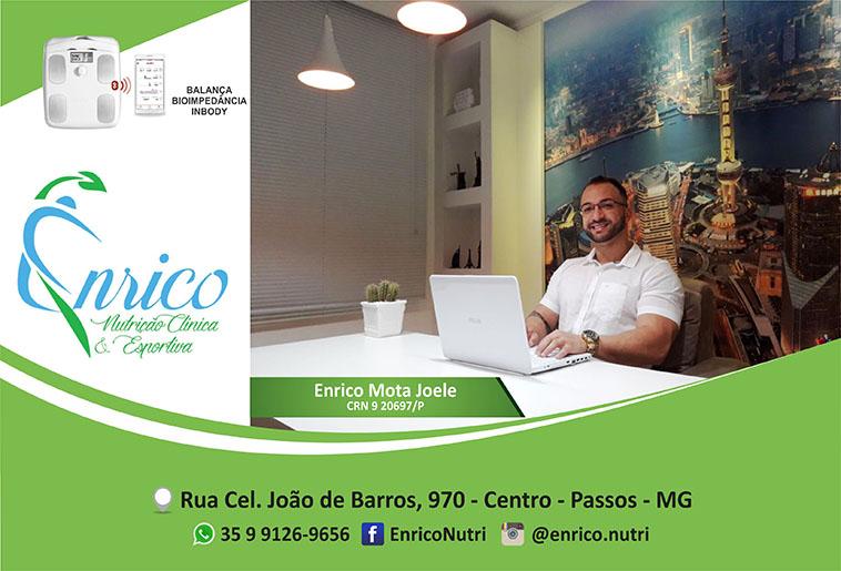 Enrico Nutrição Clínica e Esportiva - CRN 920697/P