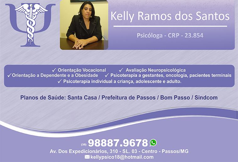 Dra. Kelly Ramos dos Santos CRP - 23854
