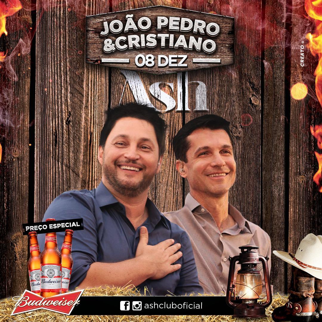 Ash Club - BUD NIGHT - João Pedro e Cristiano