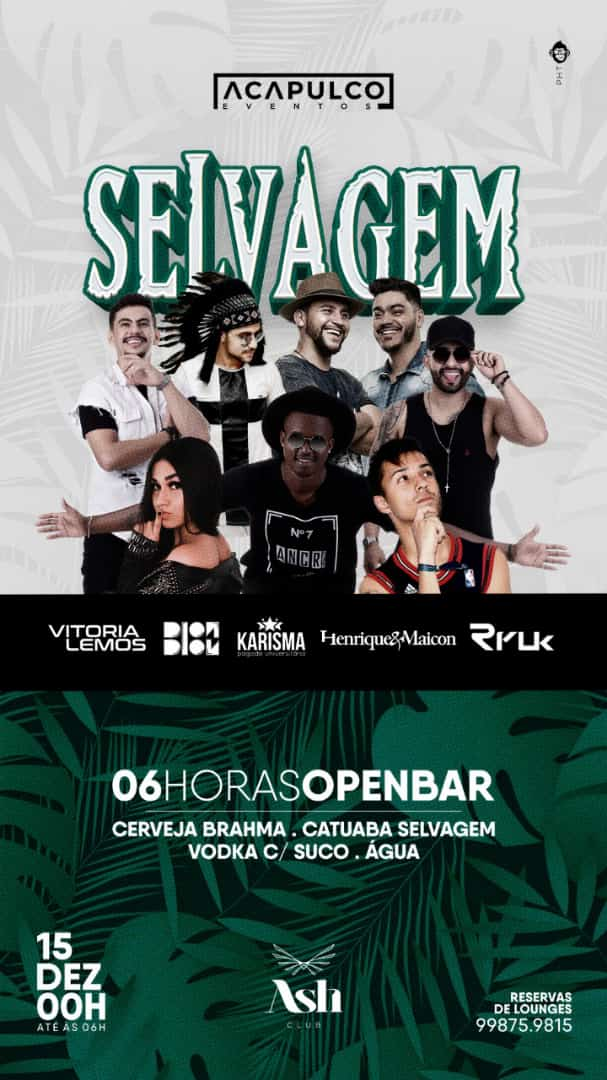 Ash Club - Selvagem