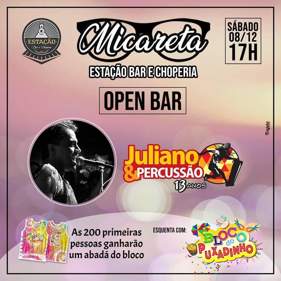 Estação Bar e Choperia - Micareta Open Bar / São Sebastião do Paraíso-MG
