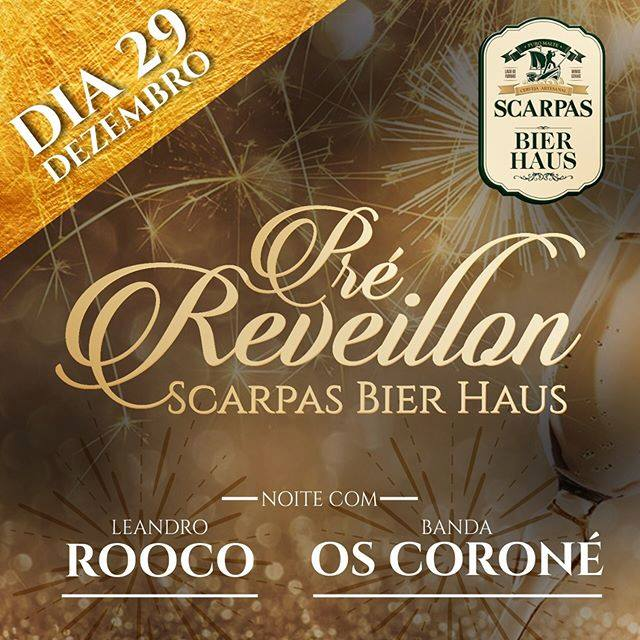 Scarpas Bier Haus - Pré Reveillon All Inclusive
