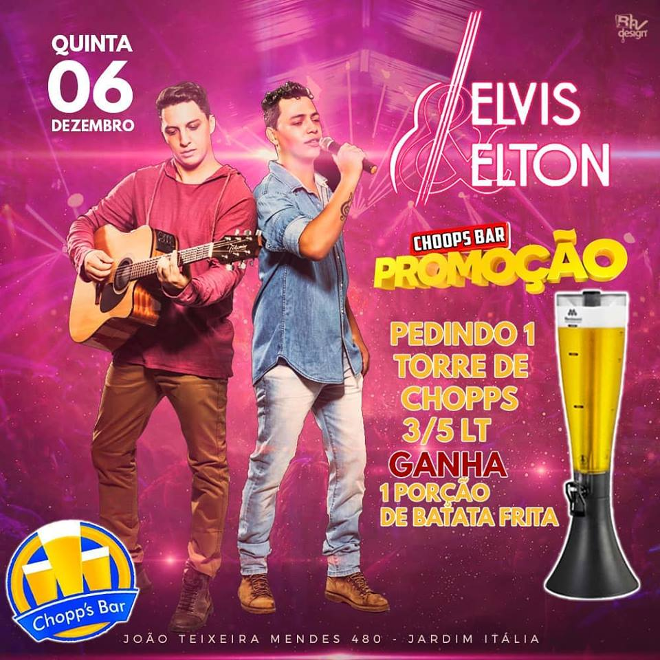 Chopp's Bar - Elvis e Elton