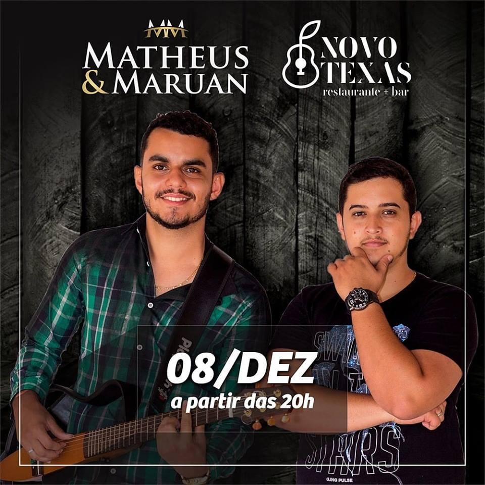Novo Texas - Matheus e Maruan / São João Batista do Glória-MG