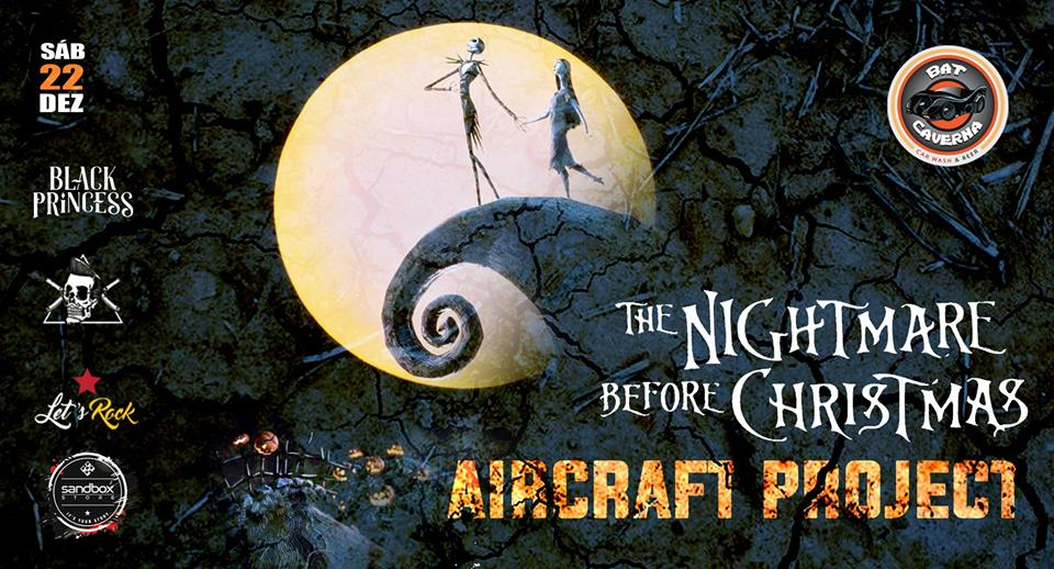 Bat Caverna - Car Wash & Beer - Aircraft Project - Nightmare Before Christmas