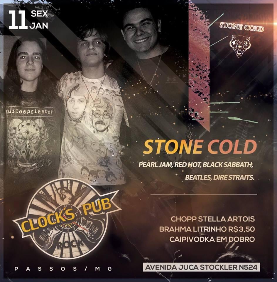 Clock's Pub - Stone Cold