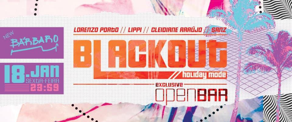 New Bárbaro - Blackout HolidayMode