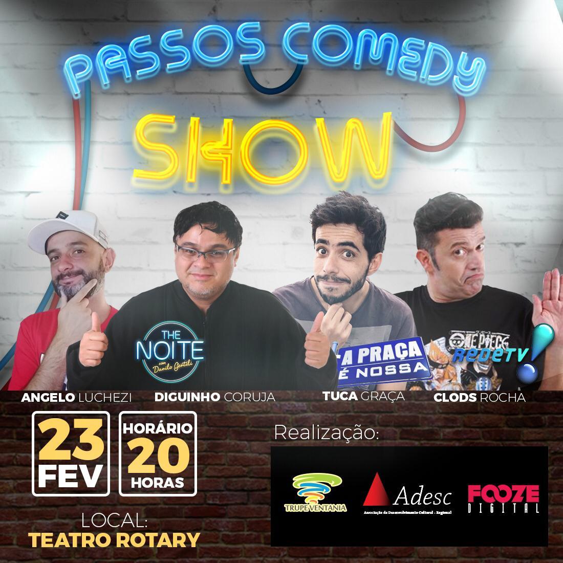 Teatro Rotary - Passos Comedy Show