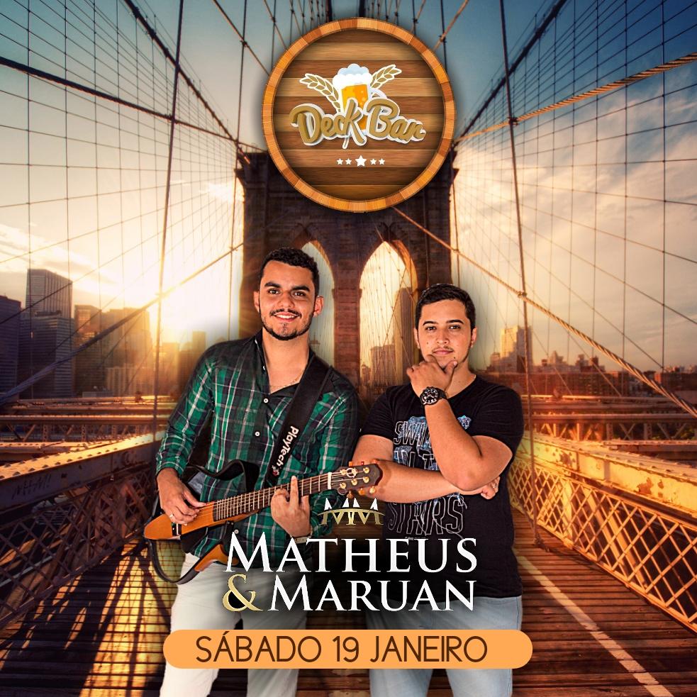 Deck Bar - Matheus e Maruan