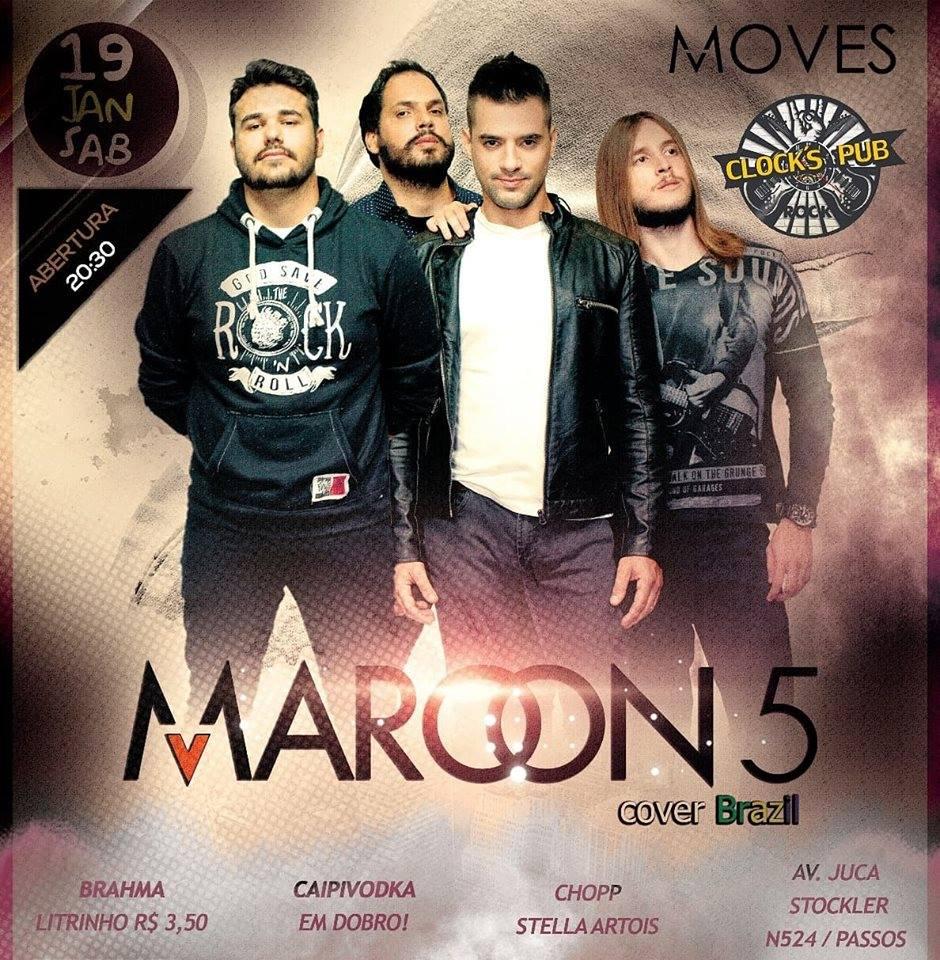 Clock's Pub - Marron 5 Cover