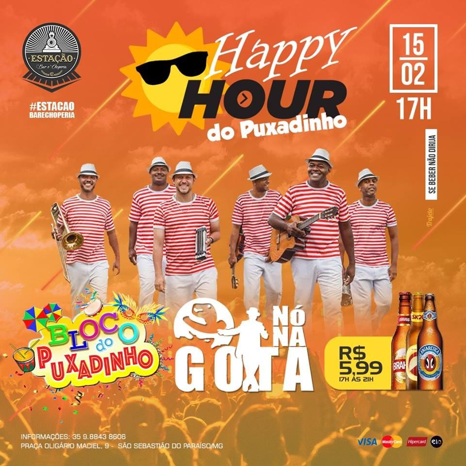 Estação Bar e Choperia - Happy Hour do Puxadinho / São Sebastião do Paraíso MG
