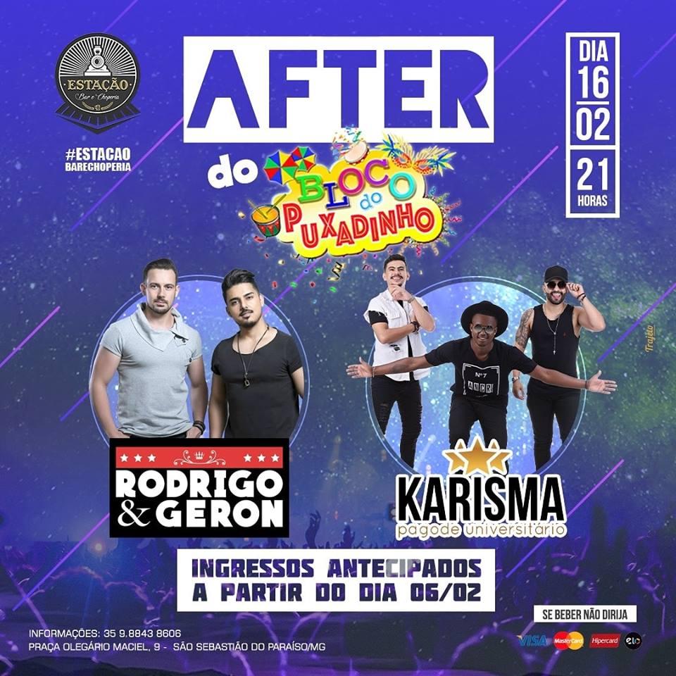 Estação Bar e Choperia - After do Bloco do Puxadinho / São Sebastião do Paraíso-MG
