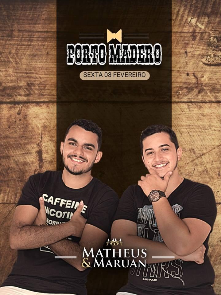 Porto Madera - Matheus e Maruan