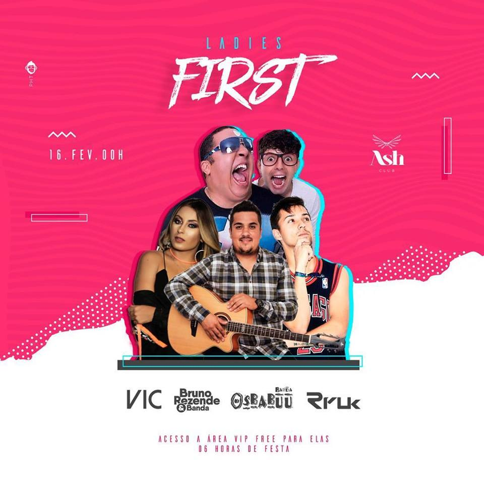 Ash Club - LADIES FIRST