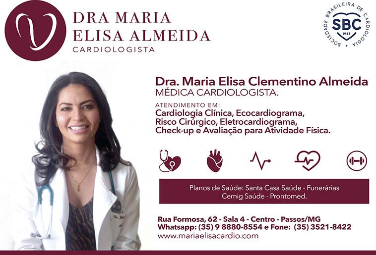 Dra. Maria Elisa Clementino Almeida - CRM - 49093