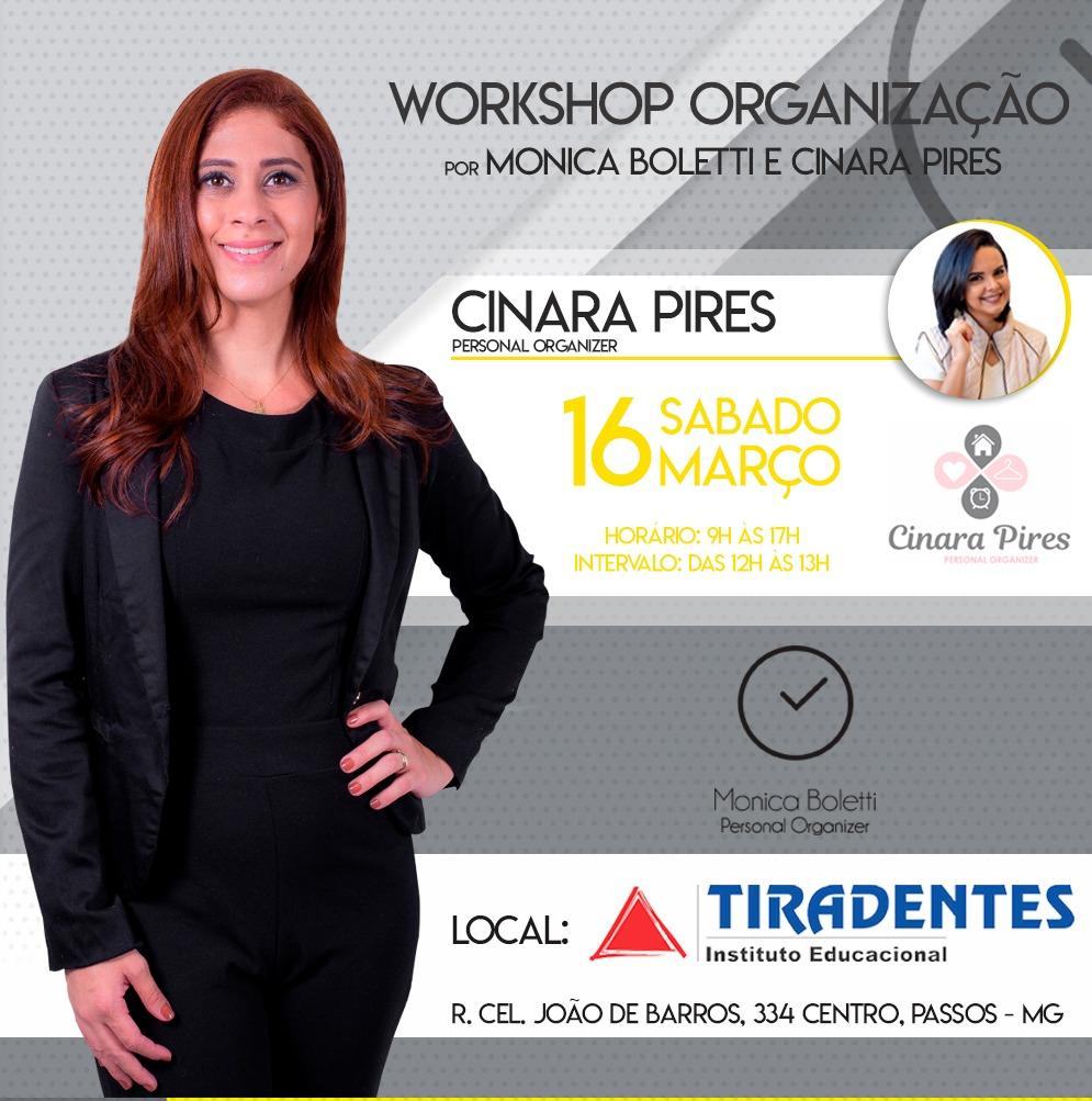 Instituto Tiradentes - Primeiro Workshop de Organização em Passos